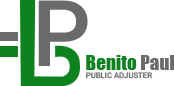 Benito Paul Public Adjuster - Logo
